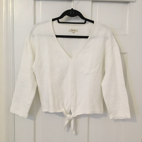 c42ac6f3dc0 Madewell Tops - Madewell Texture   Thread Tie Front Top
